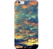 Blue and Pink Sky iPhone Case/Skin