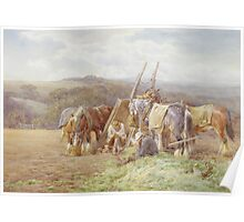 Resting in the Field Poster