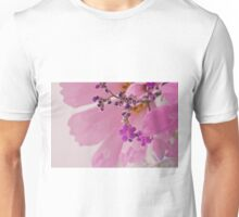Statice Macro With Cosmo Background Unisex T-Shirt