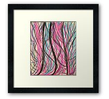 Abstract Pastel Framed Print