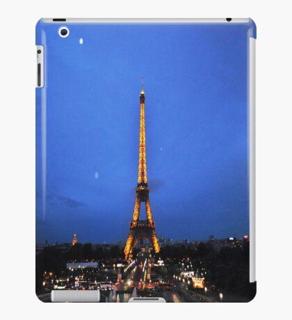 Eiffel night iPad Case/Skin