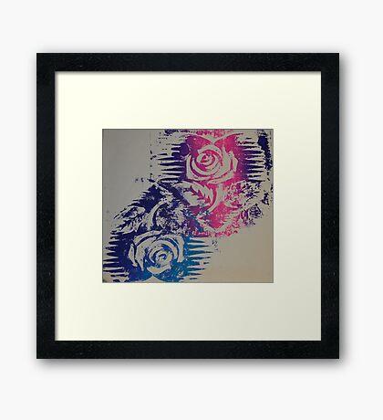 Mirror Rose Framed Print