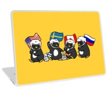 world penguin day Laptop Skin