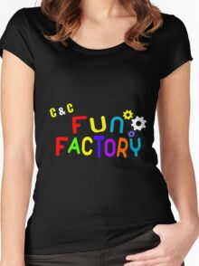 FUN FACTORY Women's Fitted Scoop T-Shirt