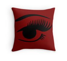 Winking Ayes Throw Pillows Throw Pillow