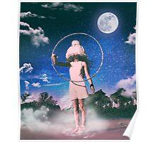 Lamp Girl Poster