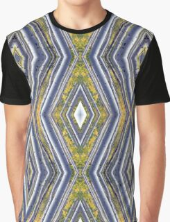 Yellow-Leaved Birch Diamonds Graphic T-Shirt