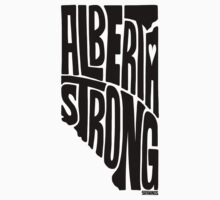Alberta Strong (Black) One Piece - Long Sleeve