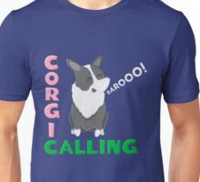 corgi barking Unisex T-Shirt