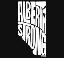 Alberta Strong (White) Baby Tee
