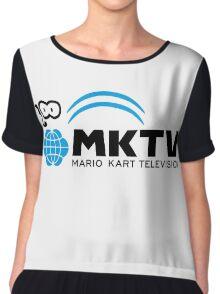 Mario Kart Television (Black) Chiffon Top
