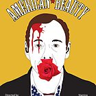American Beauty - Minimalistic Poster Design by E-Chamberlin