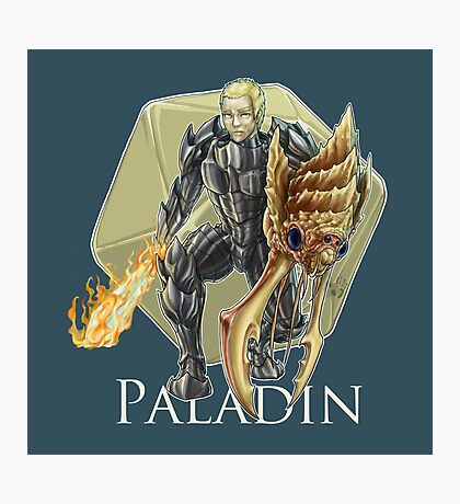 Dungeons and Dragons Paladin Photographic Print