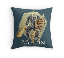 Dungeons and Dragons Paladin Throw Pillow