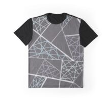 Caught in the web of lines Graphic T-Shirt