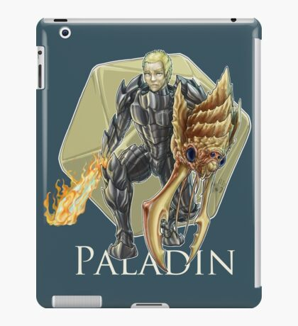 Dungeons and Dragons Paladin iPad Case/Skin