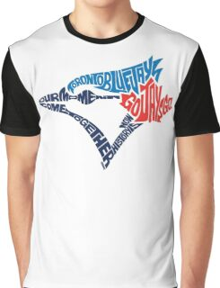 Toronto Blue Jays (Blue) Graphic T-Shirt