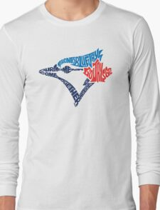 Toronto Blue Jays (Blue) Long Sleeve T-Shirt