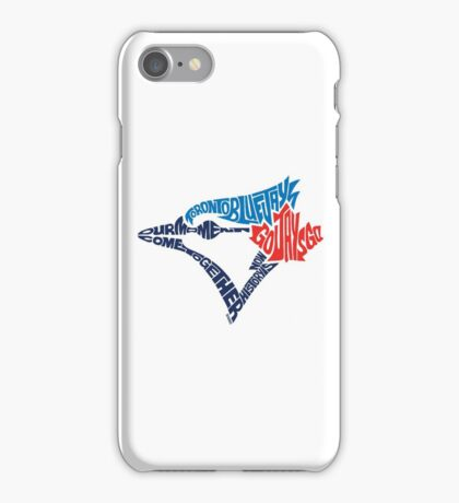 Toronto Blue Jays (Blue) iPhone Case/Skin