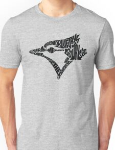 Toronto Blue Jays (black) Unisex T-Shirt