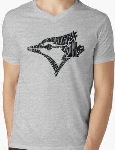 Toronto Blue Jays (black) Mens V-Neck T-Shirt