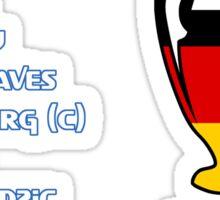 Bayern Munich 2001 Champions League Winners Sticker