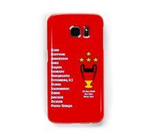 Bayern Munich 2001 Champions League Winners Samsung Galaxy Case/Skin