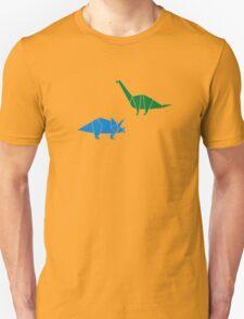 Dinosaur Origami Unisex T-Shirt