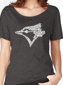 Toronto Blue Jays (white) Women's Relaxed Fit T-Shirt