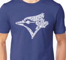 Toronto Blue Jays (white) Unisex T-Shirt