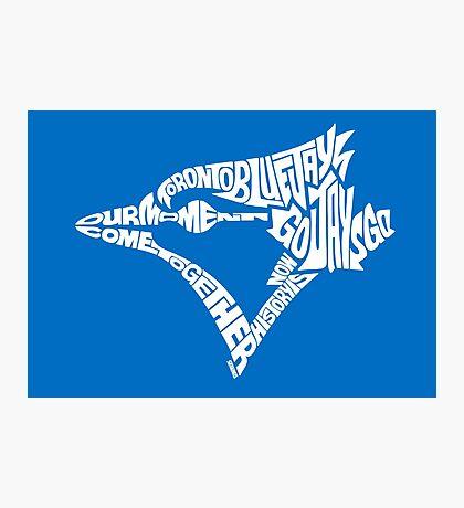 Toronto Blue Jays (white) Photographic Print