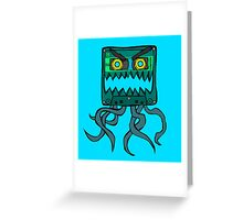 Crazy Cassette Greeting Card