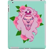 Of lions and swords iPad Case/Skin