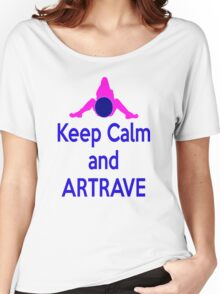 Lady GaGa ArtPop T shirt 1 - Keep Calm and ARTRAVE Women's Relaxed Fit T-Shirt