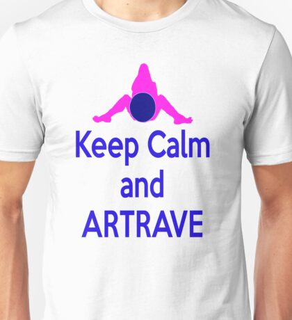Lady GaGa ArtPop T shirt 1 - Keep Calm and ARTRAVE Unisex T-Shirt