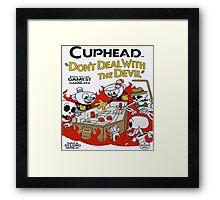 Cuphead Framed Print