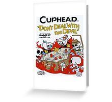 Cuphead Greeting Card
