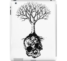 Skull and Tree Graphic T-Shirt iPad Case/Skin