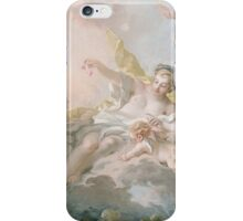 Francois Boucher - Aurora And Cephalus 1769. Lovers portrait: sensual woman, woman and man, kiss, kissing lovers, love relations, lovely couple, family, valentine's day, sexy, romance, female and male iPhone Case/Skin
