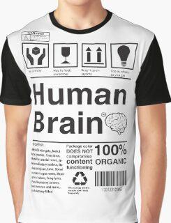 Human Brain Graphic T-Shirt