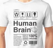 Human Brain Unisex T-Shirt