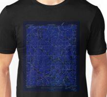 USGS TOPO Map Alabama AL Flat Rock 303837 1936 24000 Inverted Unisex T-Shirt