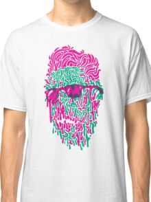 Shady Dripper: Pink and Green Colorway Classic T-Shirt