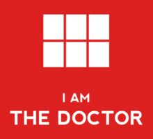 Doctor Who - I am the Doctor Baby Tee
