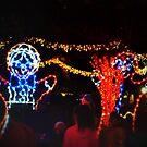 Dancing gingerbread men by ♥⊱ B. Randi Bailey