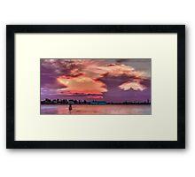 Dusk in Venice Framed Print