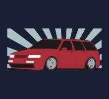 Red Passat Wagen Kids Tee
