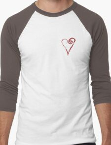 Entering The Portal Heart 02 Men's Baseball ¾ T-Shirt