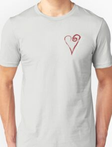 Entering The Portal Heart 02 Unisex T-Shirt