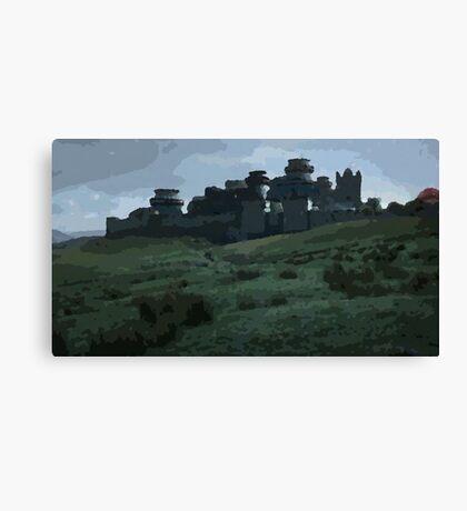 Winterfell Canvas Print
